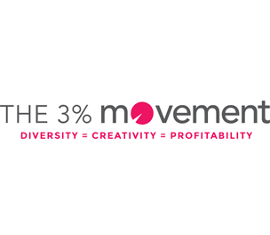 3% Movement logo graphic