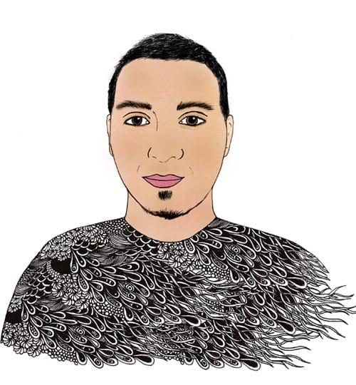 Tylie Team Portrait of Moises Chavez
