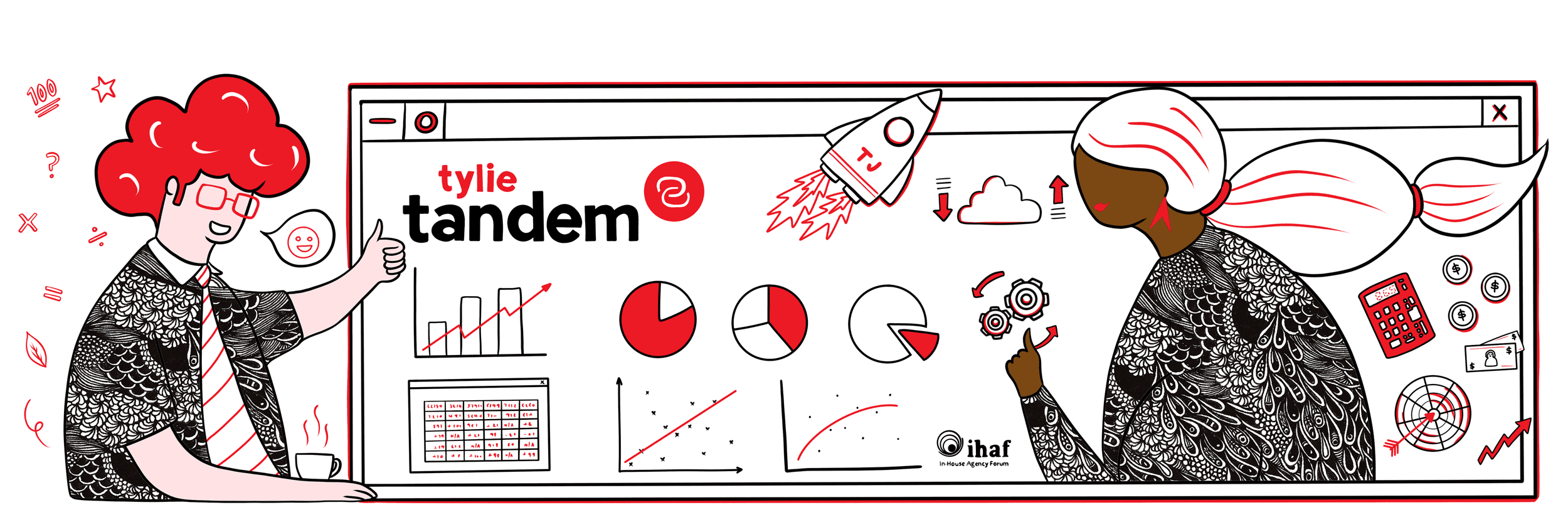 In-House Teams media delivery consulting illustration
