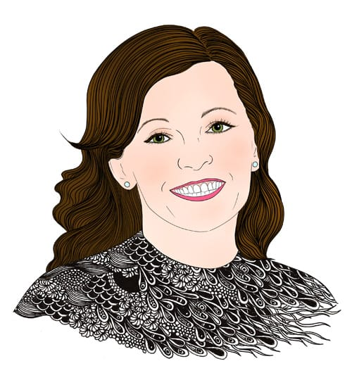 Team Tylie Marcia Kepple portrait illustration